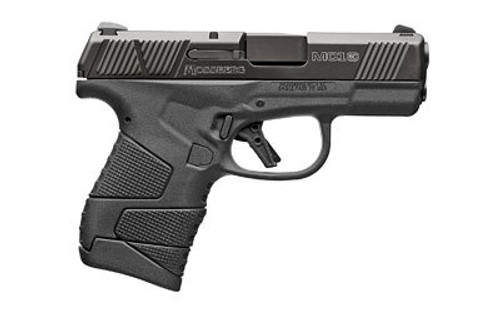 "Mossberg MC1sc Sub-Compact 9MM, 3.4"" Barrel, Polymer Frame, 3-Dot Sight,W/Manual Safety, 1-6Rd & 1-7Rd Mag"