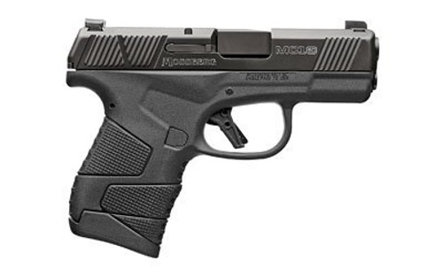 "Mossberg MC1sc Sub-Compact 9MM, 3.4"" Barrel, Polymer Frame, Night Sighst, No Manual Safety, 1-6Rd & 1-7Rd Mag"