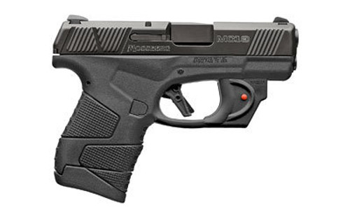 "Mossberg MC1sc Sub-Compact 9MM, 3.4"" Barrel, Polymer Frame, Red Laser, No Manual Safety, 1-6Rd & 1-7Rd Mag"