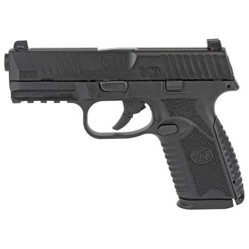 """FN 509 Midsize Double 9mm, 4"""" Barrel, Black Frame, Black Slide, 15rd"""