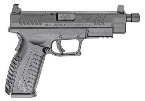 "Springfield XDM OSP (Optical Sight Pistol) Full Size, 9MM, 5.28"" Threaded Barrel, Base Plates and Non Threaded Barrel Included, Optics Ready"