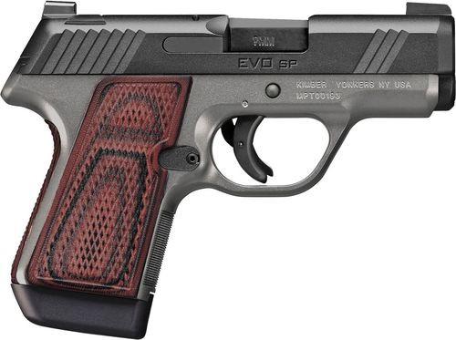 "Kimber EVO SP CDP 9mm, 3"" Barrel, Tritium Night Sights, Striker Fired, Red/Black G10 Grips, 7rd Mag"
