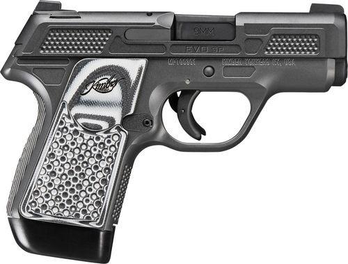 "Kimber EVO SP CS Custom Shop 9mm, 3"" Barrel, Tritium Night Sights, Striker Fired, Gray-Black G10 Grips, Stiplex, 7rd Mag"