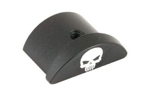 Bastion, Skull, Grip Plug, Black, Fits Glock 43