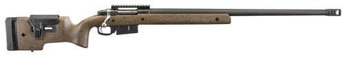 "Ruger Hawkeye Long Range Target 6.5 PRC, 26"" Barrel, Brown/Black Laminate, Adjustable Stock, 3rd"