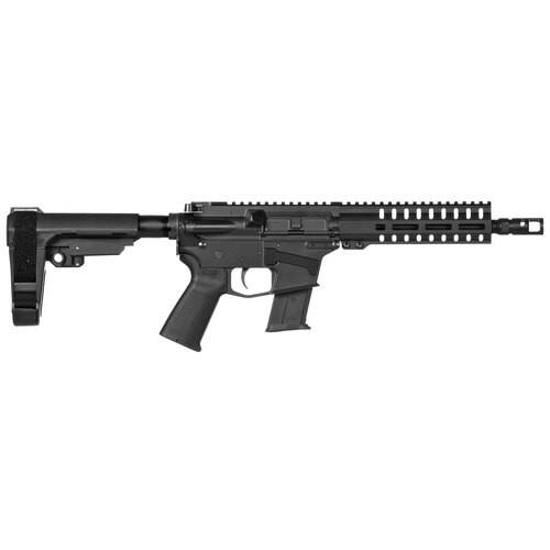 "CMMG Banshee 200 AR-15  Pistol 5.7X28M, 8"" Barrel, Black, RipBrace, M-LOK RML7 Handguard, 20Rd Mag"