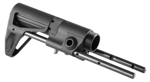 Maxim CQB Standard AR15 Rifle Stock Aluminum, Black