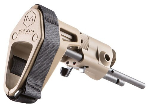 Maxim CQB AR Pistol Brace Aluminum Flat Dark Earth Standard