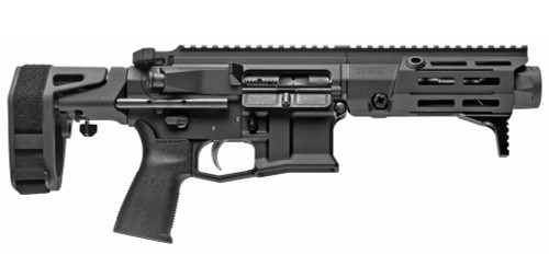 "Maxim PDX AR-15 Pistol 5.56/223, 5.5"" Barrel, Hate Brake, Black, PDW Brace, 20rd Mag"
