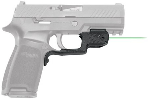 Crimson Trace Laserguard Sig P320 - Does NOT fit Sub Compact, Green