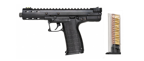 "Kel-Tec CP33 Pistol 22 LR, 5.5"" Threaded Barrel, Fiber Optic Sights, 33rd Mag"