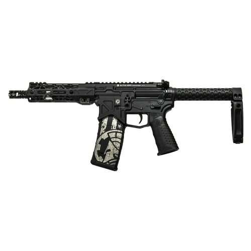 "Battle Arms Development BAD300 AR-15 Pistol, 300 Blackout, 7.5"" Barrel, Sabertube with Tailhook Brace, 30Rd Mag"