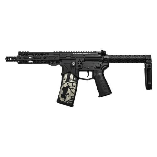 "Battle Arms Development BAD300 AR-15 Pistol, 300 Blackout, 7.5"" Barrel, Sabertube with Tailhook Brace, 30Rd Mag"