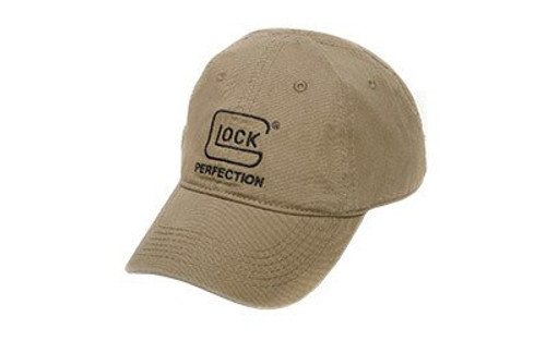 Glock Perfect Unstructured Chino Hat Sports Cap Cotton Adjustable Olive