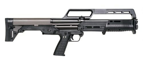 "Kel-Tec KS7 12 Ga, 18.5"" Barrel, Carry Handle, Black Synthetic, 6rd Mag"