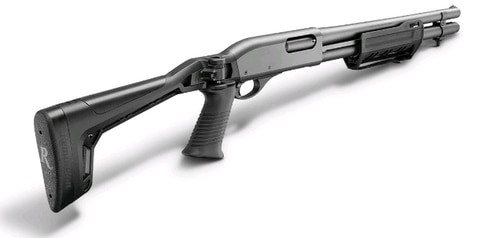 "Remington 870 Tactical Side Folder 12 Ga, 18.5"" Barrel, Folding Stock, 6rd"