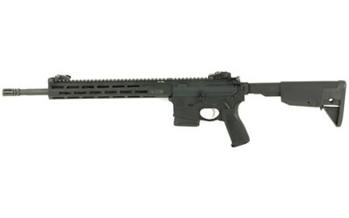"Springfield SAINT AR-15 223/556 16"" Barrel, Mid-Length Gas System, Bravo Mod 3 Grip, Flip Up Sights, 10Rd Mag State Compliabt"
