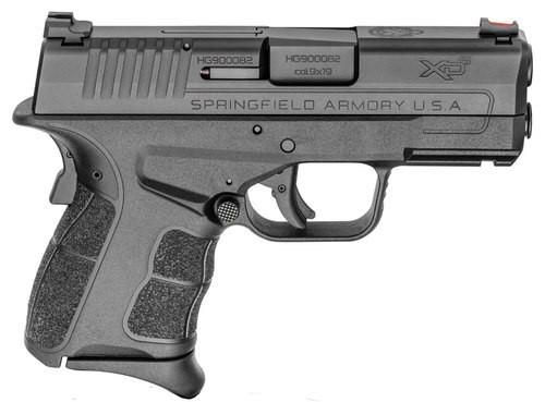 "Springfield 9mm XD-S MOD2, 3.3"" Barrel, Fiber Optic Sight, 9rd Mag"