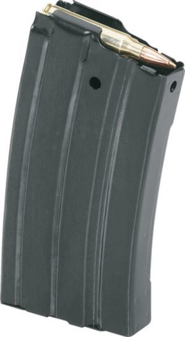 DURAMAG Magazine, 6.8 SPC or 224 Valkyrie, 10Rd, Black, Fits AR Rifles, Stainless Steel, Black Anti-tilt AGF Follower