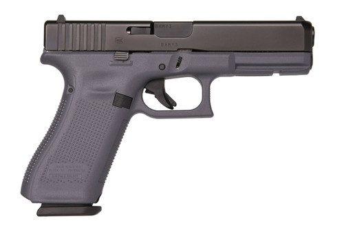 Glock 17 Gen 5 9mm Gray Frame Fixed Sights 17rd Mag