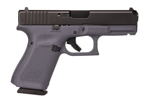 Glock 19 Gen 5 9mm Gray Frame Fixed Sights 15rd Mag