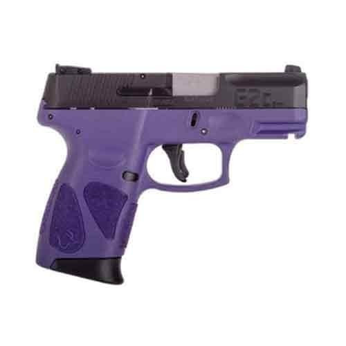 "Taurus G2S Slim 9mm 3.25"" Barrel Purple Polymer Grip 7rd Mag"