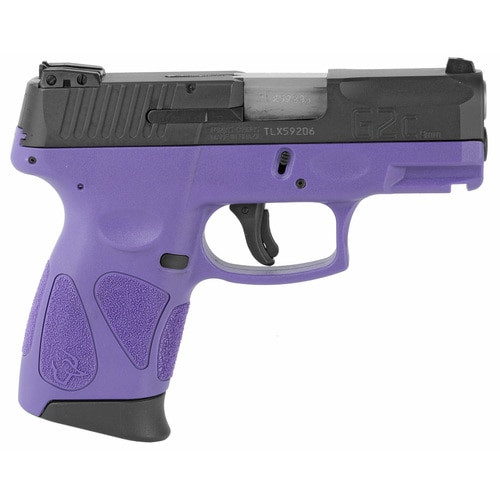 "Taurus G2C2C Compact Pistol 9MM 3.2"" Barrel, Dark Purple Frame, Blue Slide, Adjustable Sights, 12Rd Mag"