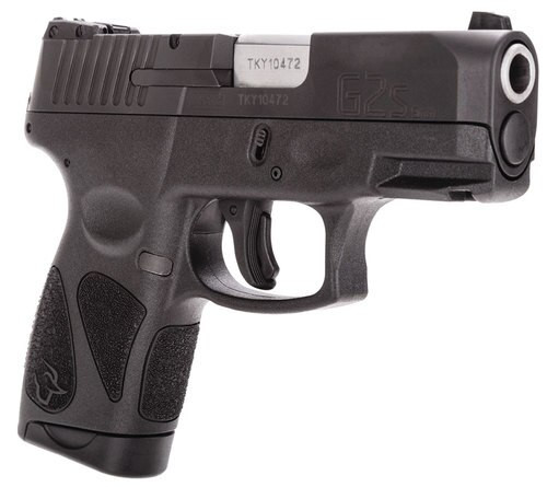 "Taurus G2S Slim Black 9mm, 3.25"" Barrel  Black Polymer Grip/Frame 7rd Mag"