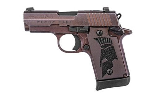 "Sig P938 Spartan II, 9mm, 3"", 7rd, Distressed Coyote Finish"