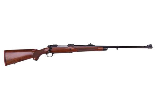 "Ruger M77 Hawkeye African 9.3x62 24"" Barrel Satin Blue Finish  American Walnut Stock 3 Round"