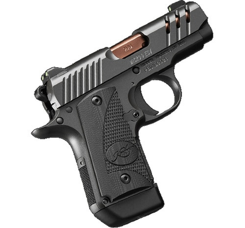 "Kimber Micro 9 ESV 9mm, 3.15"", Black, TiN Rose Copper Barrel, 7rd"