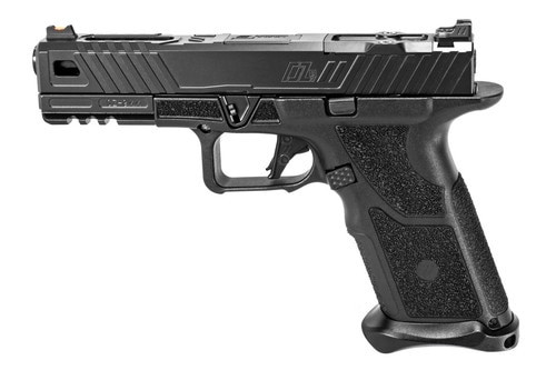"Zev Technologies O.Z-9 Modular Pistol, 9mm, 4.49"" Barrel, 17rd, Black"