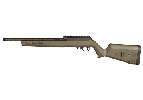 Volquartsen Summit Rifle, .22 LR, Magpul OD Green Stock, Lightweight Barrel