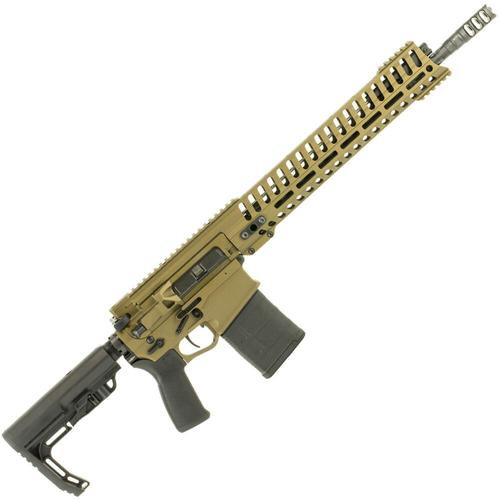 "POF Revolution DI, .308 Win, 16.5"" Barrel, 20rd, Direct Gas Impingement, 14.5"" M-LOK Rail, Burnt Bronze"