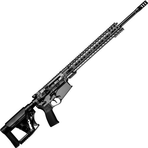 "Patriot Ordnance Factory, Revolution DI, Semi-automatic Rifle, 6.5 Creedmoor, 20"" Deep Fluted Barrel, Black, Mission First Tactical Furniture, 14.5"" M-Lok Rail, 20 Rounds, 1 Magazine"