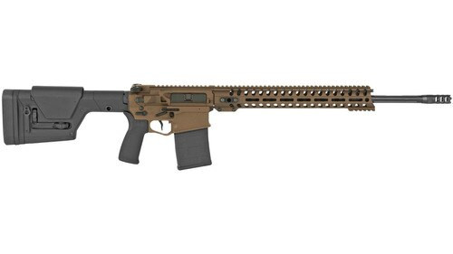 "POF Revolution DI, 6.5 Creedmoor, 20"" Barrel, 20rd, Direct Impingement, 14.5"" M-LOK Rail, Burnt Bronze Finish"