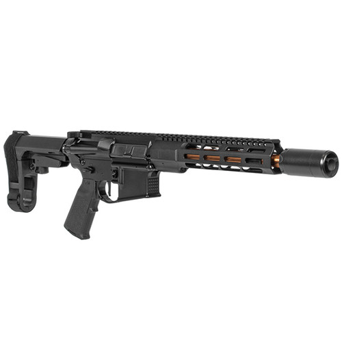 "ZEV Core Elite AR-15 Pistol 223/5.56, 10.5"" Bronze Barrel, Black, 30 rd Mag"