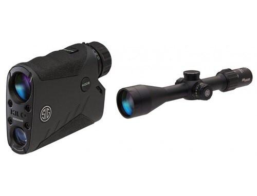 Sig Electro-Optics Kilo 2200 BDX Rangefinder / Sierra3 BDX Combo, 4.5-14x50