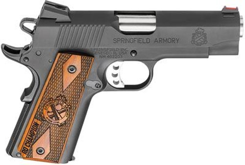 "Springfield 1911 Champion Range Officer Pistol 45 ACP 4"" Parkerized, 7rd"
