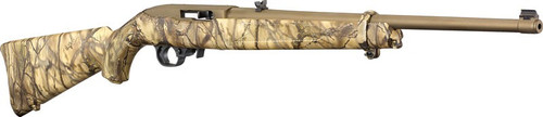 "Ruger 10/22 Go Wild 22 LR, 18.5"" Barrel Go Wild Camo Stock, Bronze Cerakote Barrel and Action"
