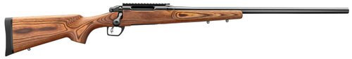 "Remington 783 Varmint Bolt 22-250 Winchester 26"" Heavy Barrel Brown Laminate Stock, Beavertail Forend"