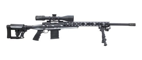 """Howa HCRA American Flay Grayscale Chassis Rifle Package, .223, 24"""" Barrel, Scope"""
