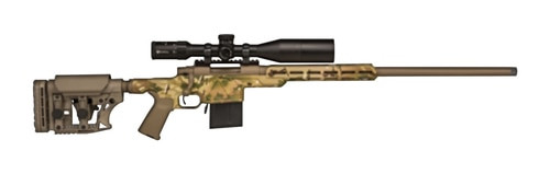 "HOWA APC Rifle 6.5 Creedmoor 26"" Barrel Aluminum Chassis, Multicam Flat Dark Earth Camo"