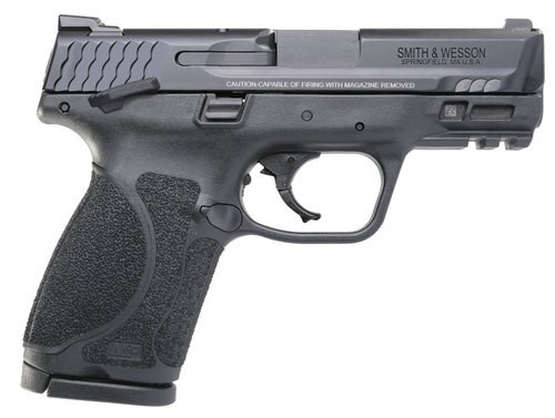 """Smith & Wesson M&P M2.0 Compact 40 S&W, 3.6"""" Barrel, TS Black Armornite Stainless Steel, 13rd"""
