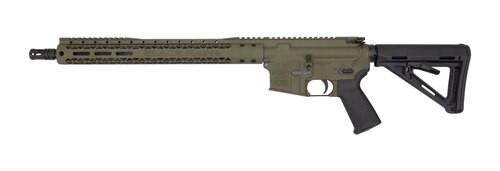 "Black Rain AR-15 Special 5.56/223 16"" Barrel XL Handguard OD Green Finish 30rd Mag"