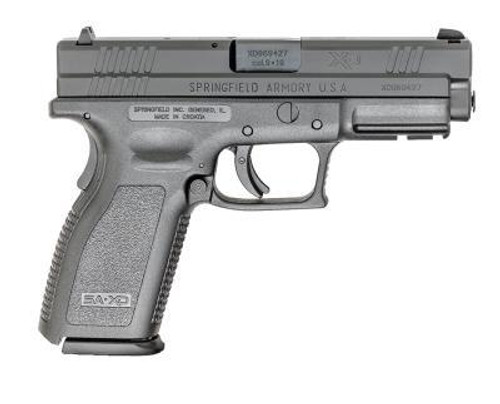"Springfield XD 9mm Defender Series Full Size, 4"" Barrel, 10rd, Black"