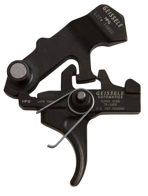Geissele Automatics 05-157 Super Scar M4 Curved AR Style Mil-Spec Steel Black O