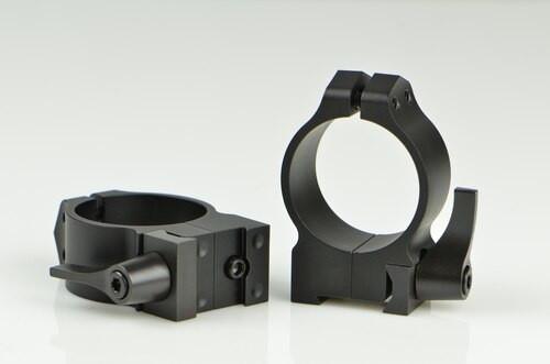 Warne CZ 527 30mm CZ, QD, Med Matte Rings, 16mm Grooved Receiver