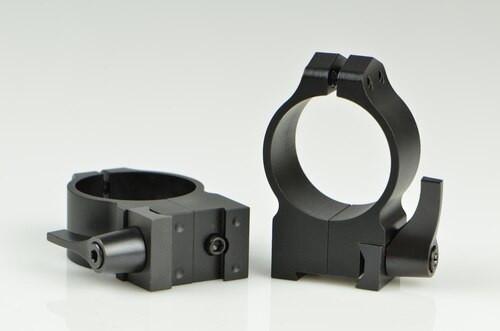 Warne CZ 527 30mm CZ, QD, High Matte Rings, 16mm Grooved Receiver
