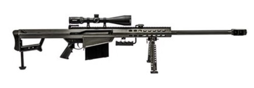 "Barrett 82A1 50BMG, 29"" Barrel, Black, Synthetic Stock, 10Rd, 1 Magazine, Bi-pod, Vortex Viper PST 5-25x50 FFP With EBR-7C Reticle, Barrett Zero Gap Rings"